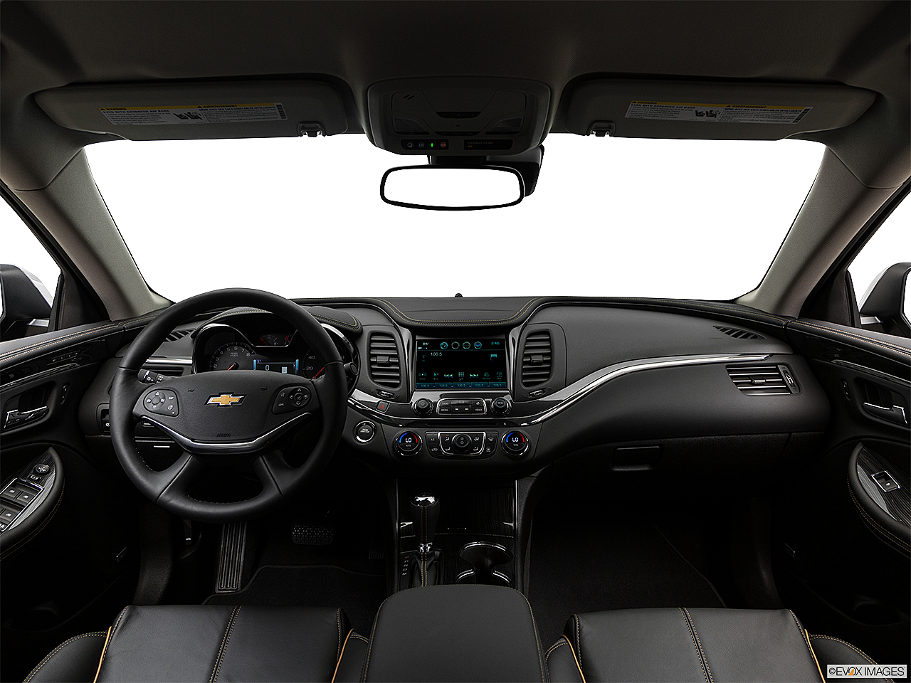 hight resolution of 2018 chevrolet impala premier centered wide dash shot