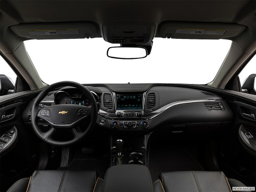 small resolution of 2018 chevrolet impala premier centered wide dash shot