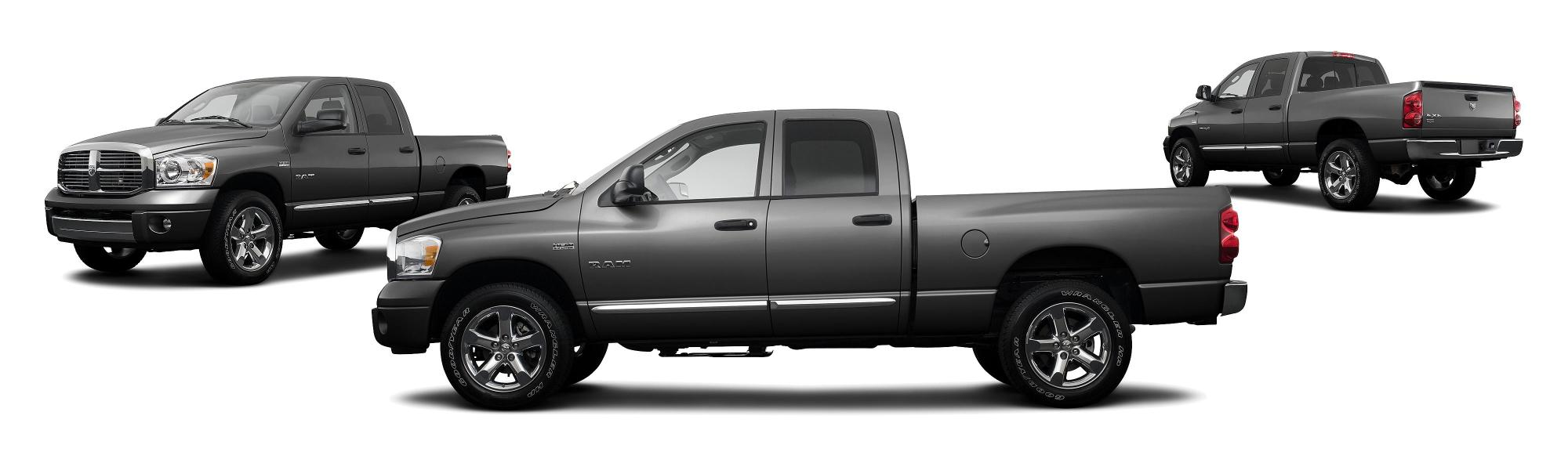 hight resolution of 2008 dodge ram pickup 1500 laramie 4dr quad cab sb research groovecar