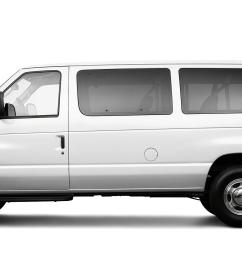 2009 ford e series wagon e 350 sd xl 3dr passenger van research groovecar [ 4000 x 1200 Pixel ]