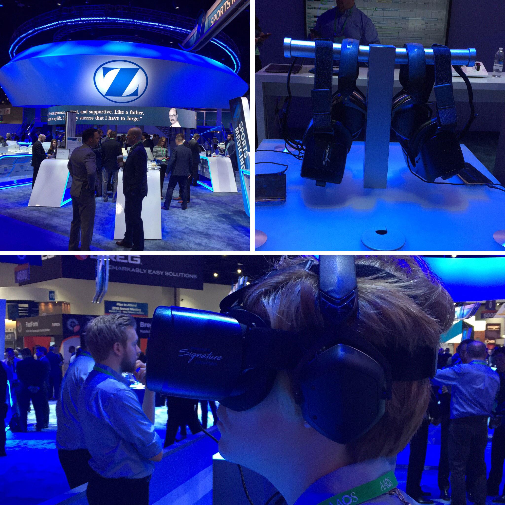 Zimmer Biomet VR Medical Mobile App