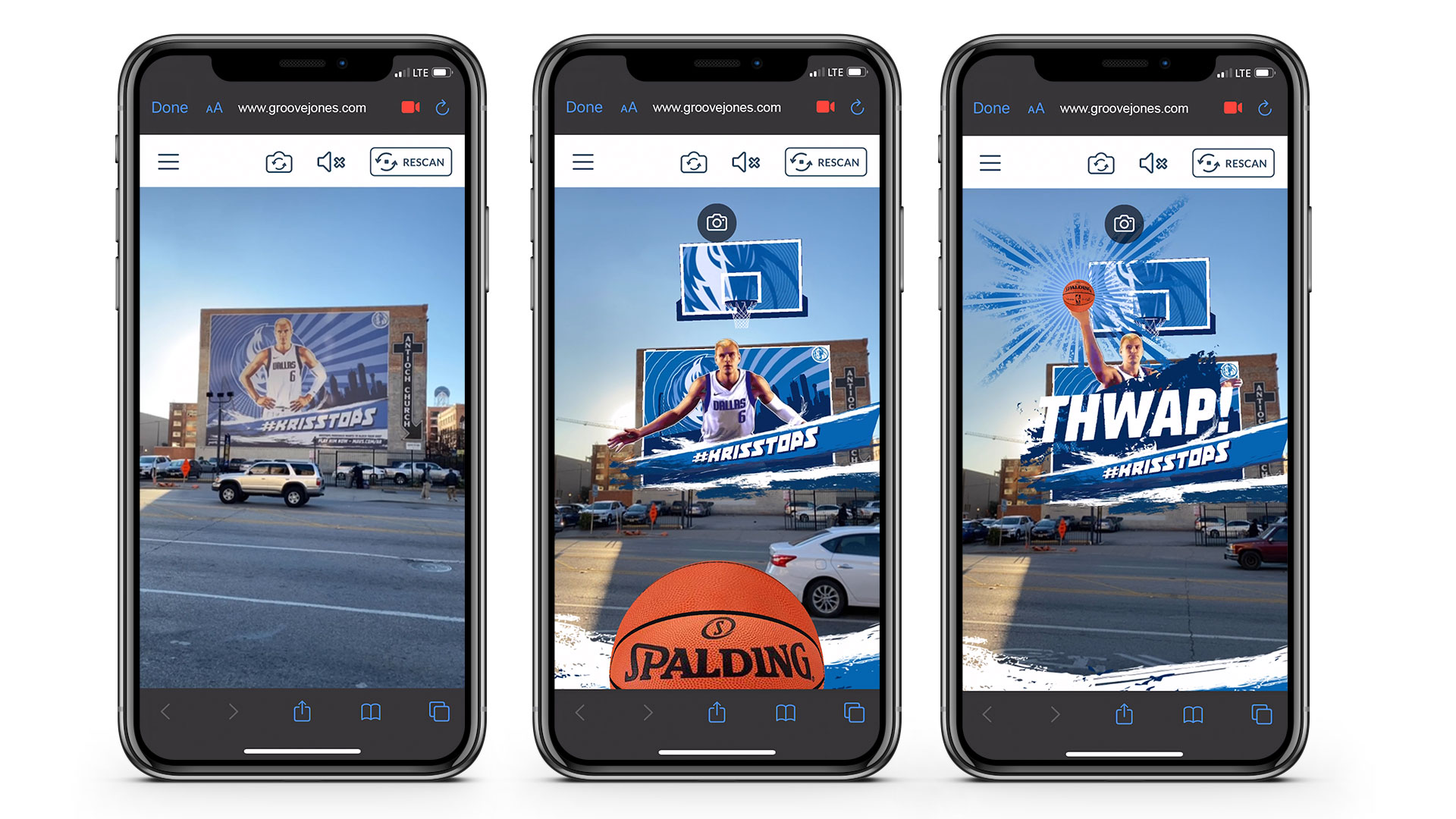 Dallas Mavs Augmented Reality