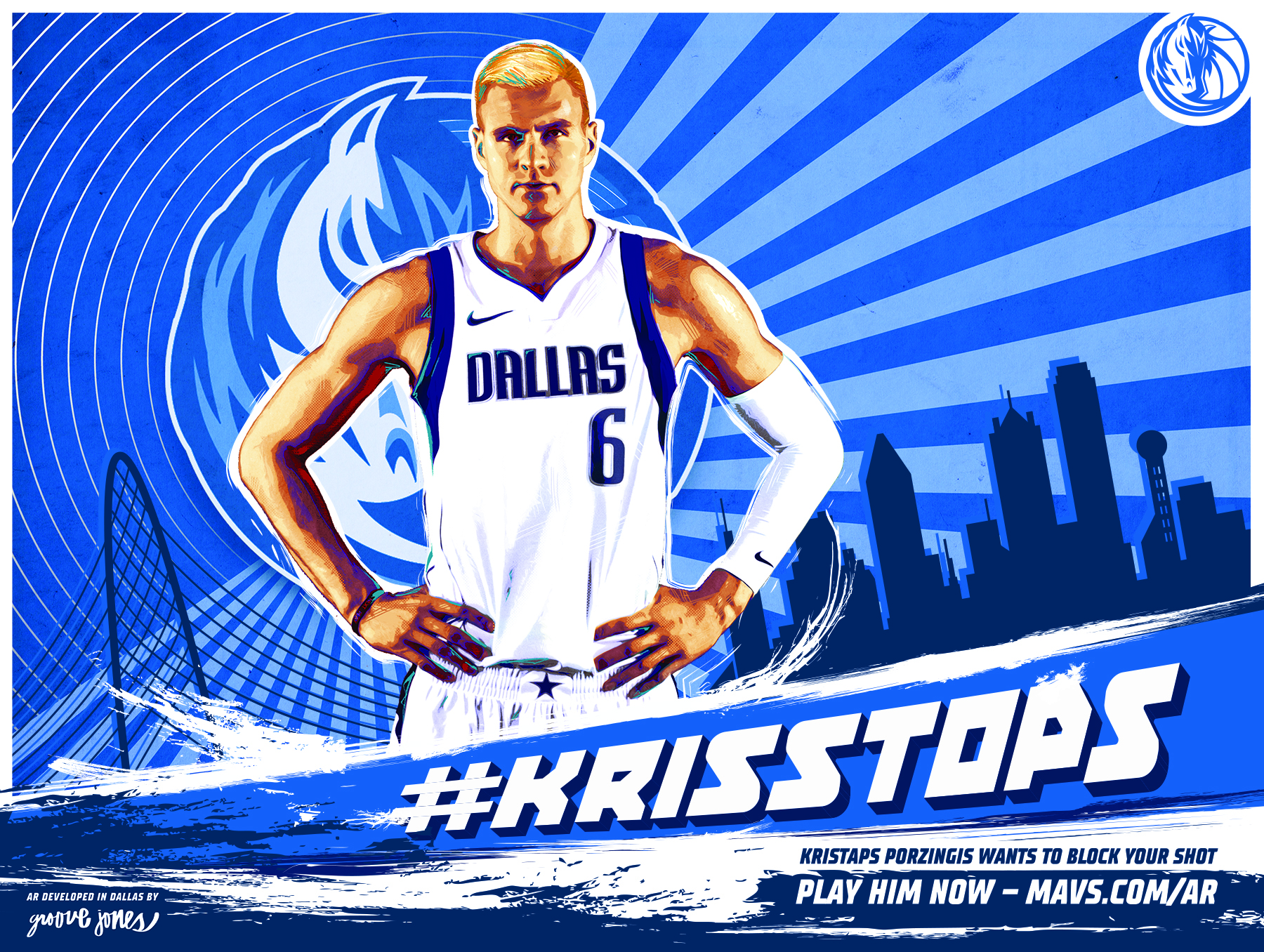 Dallas Mavs Web AR