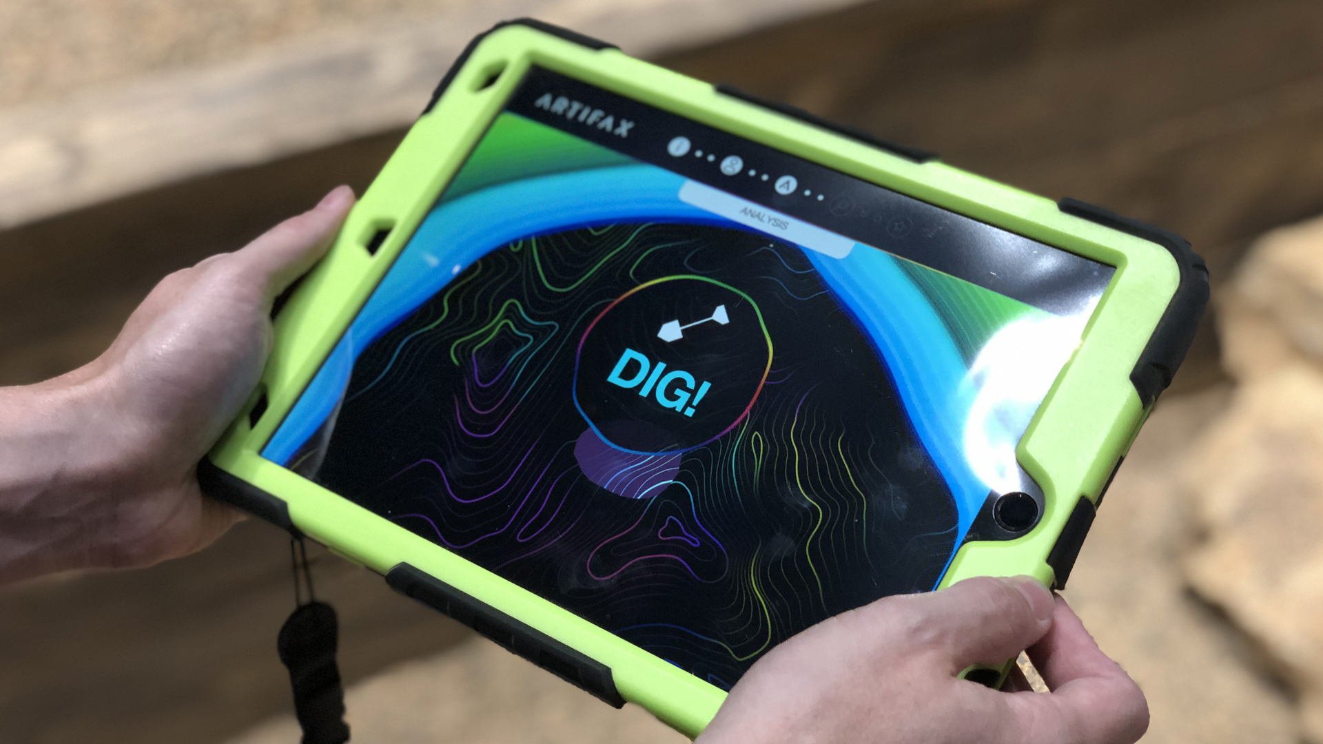 fossil dig interactive