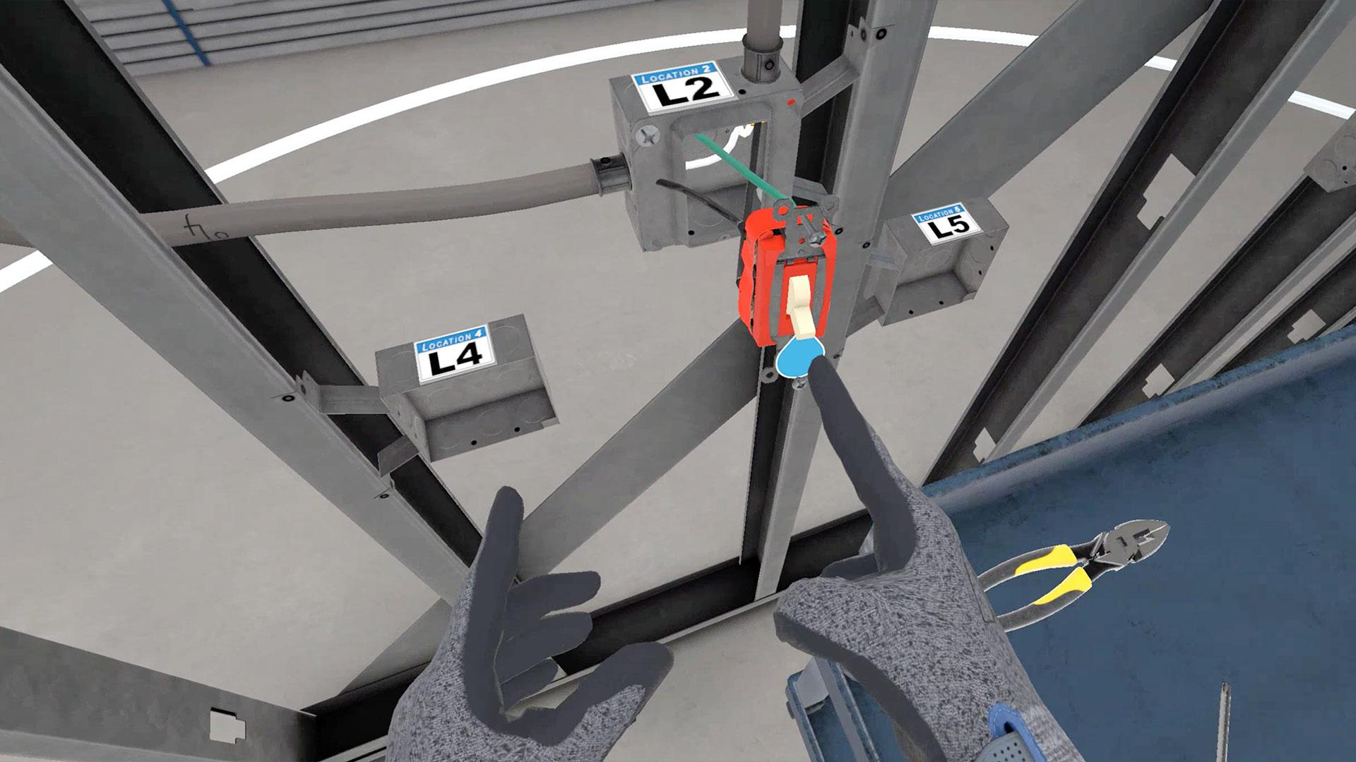 training sim