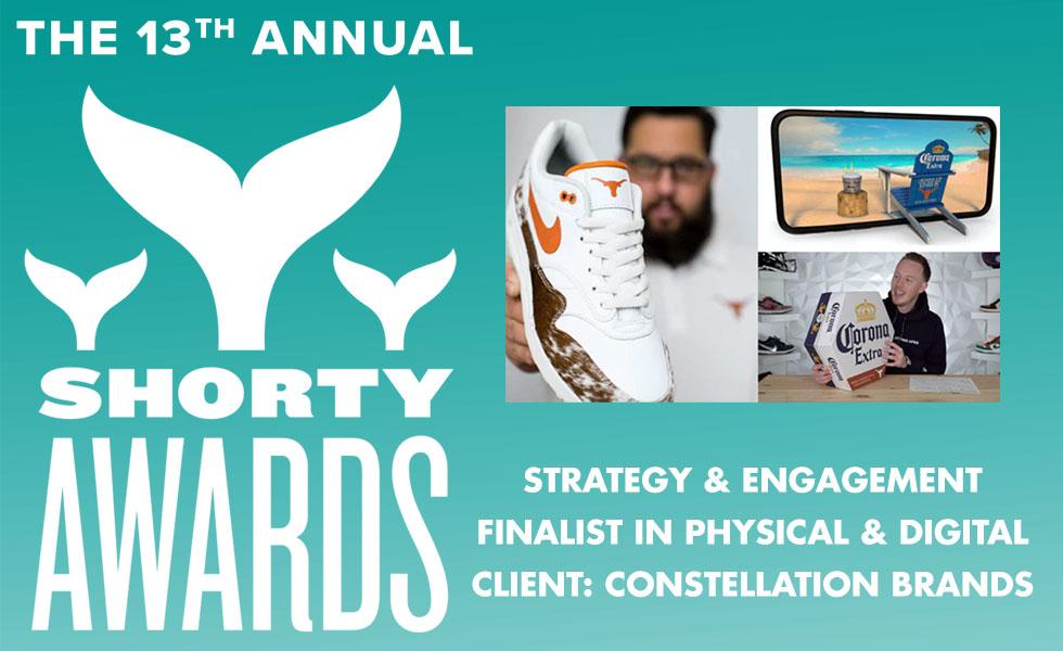Shorty Award Best Physical Digital