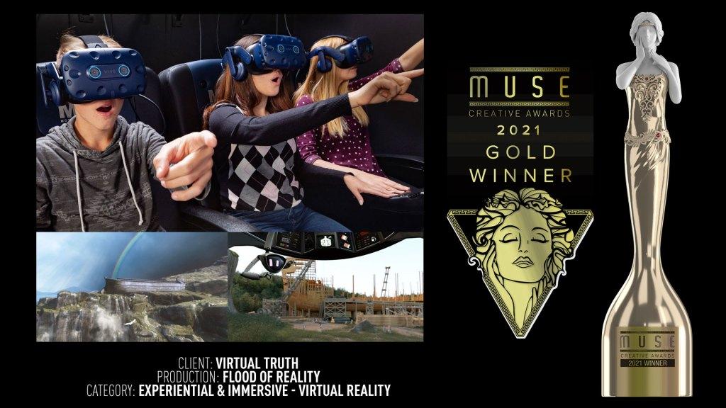 award winning virtual reality