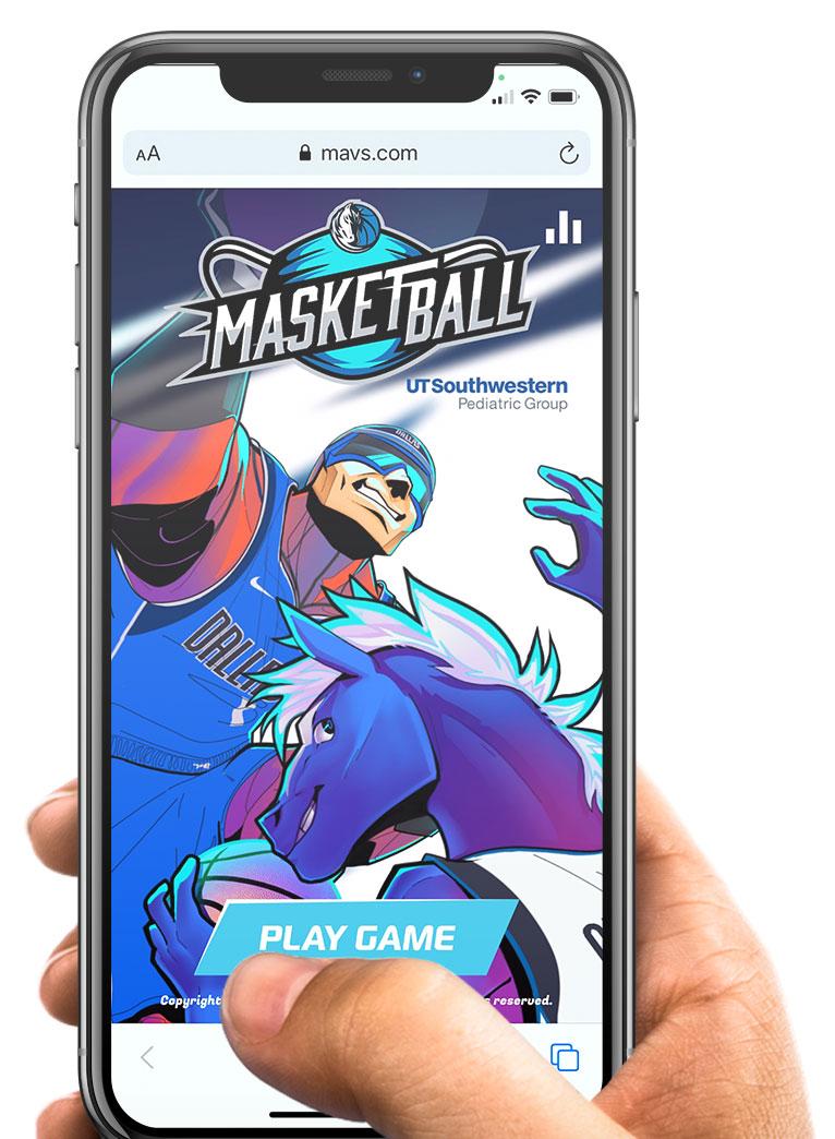 Dallas Mavs mobile game