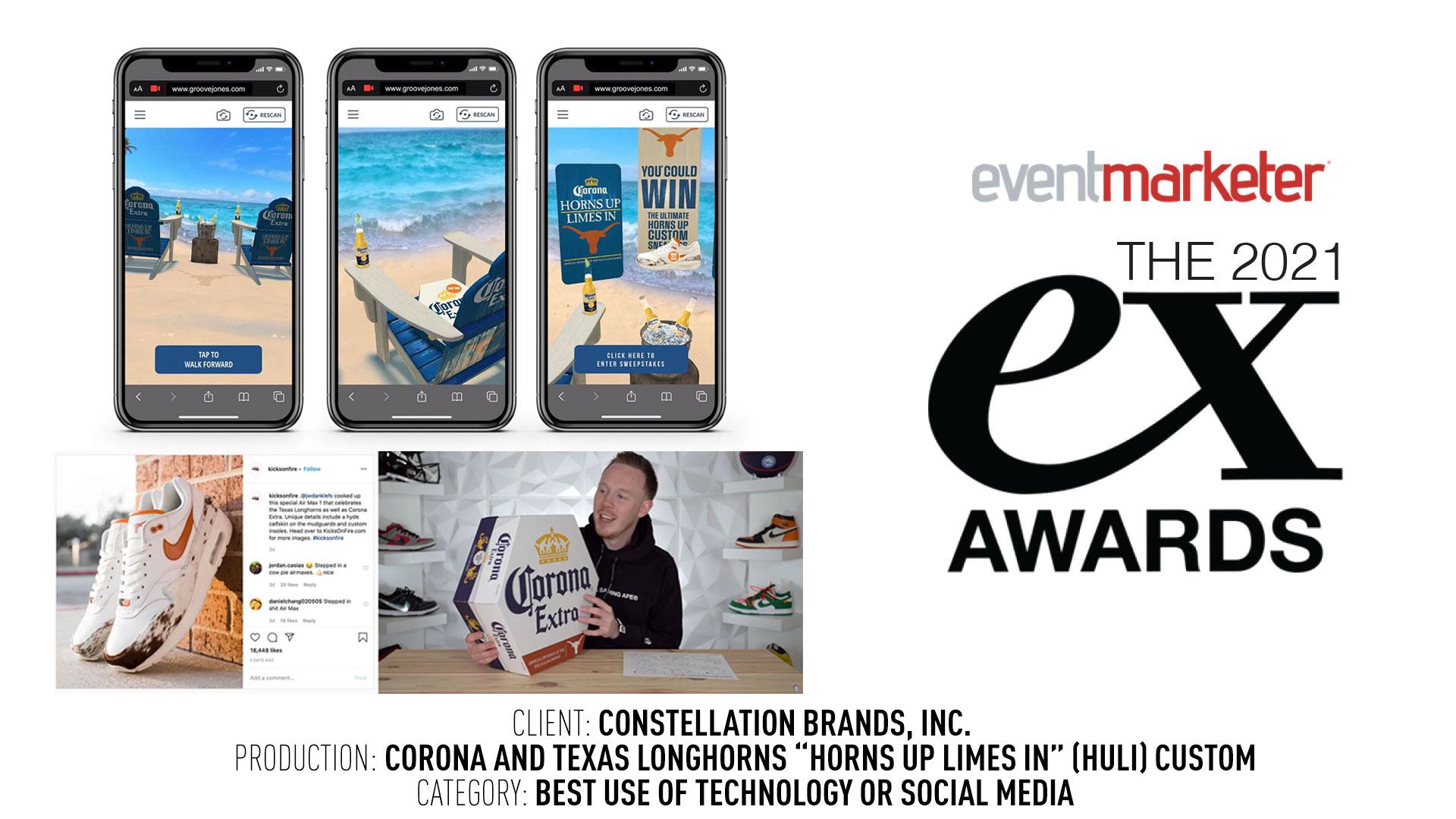EX Awards Best Social