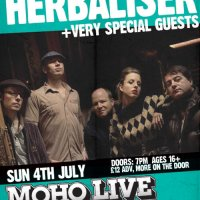 Win: HERBALISER/MOUSE OUTFIT tickets for MCR gig Sunday