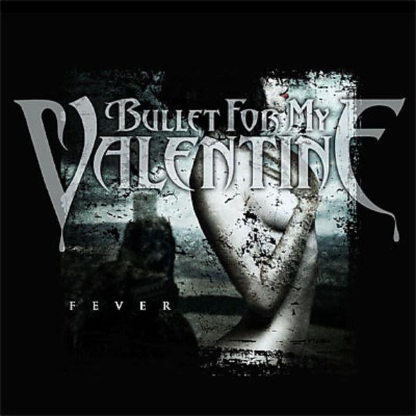 Bullet For My Valentine Fever Cover Amp Logot Shirtgre