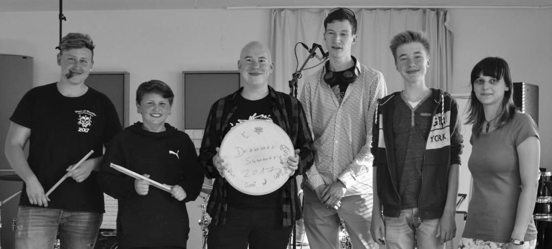 Drummer Summer 2017 Gruppenfoto