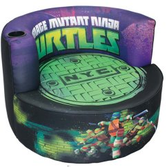 Ninja Turtles Chair Bedroom Stool Or Tmnt N Y C Kids Swivel Redondo Groovy Gear