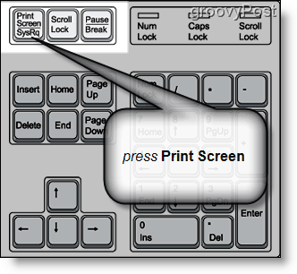 how to make a screenshot on windows xp