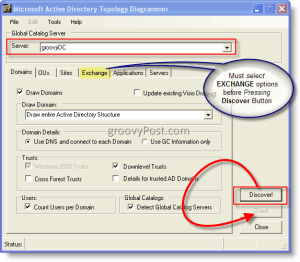 HowTo Map Active Directory and Exchange Topology