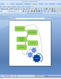 Microsoft word flowchart example also how to make  flow chart in rh groovypost