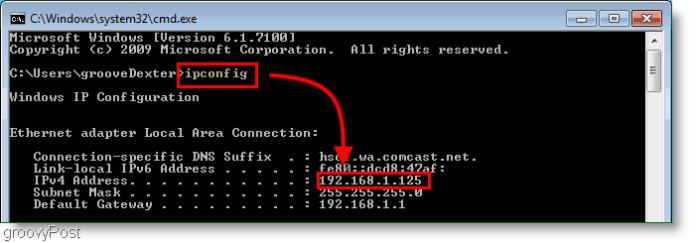 Kako pronaći svoju IP adresu