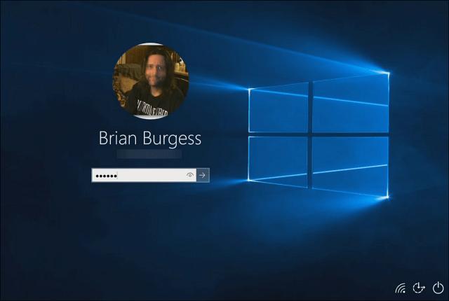 Log into Windows 10