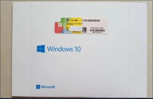 OEM System Builder Windows 10 Clé de produit