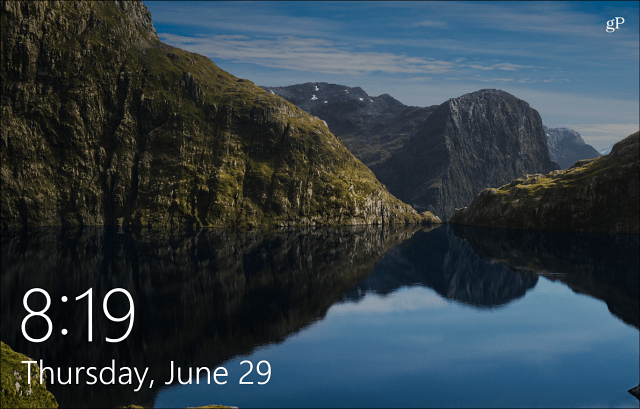 Today Windows 10 Spotlight Lock Screen Wallpaper