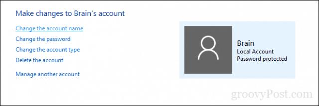 cara mengganti nama di tampilan awal laptop
