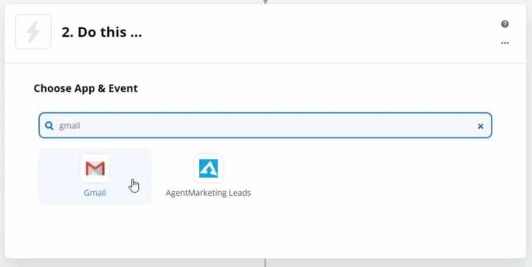 Gmail в Zapier