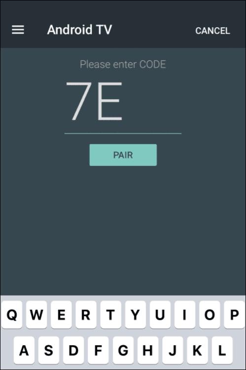 3 enter pair code