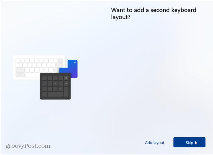 пропустить вторую раскладку клавиатуры