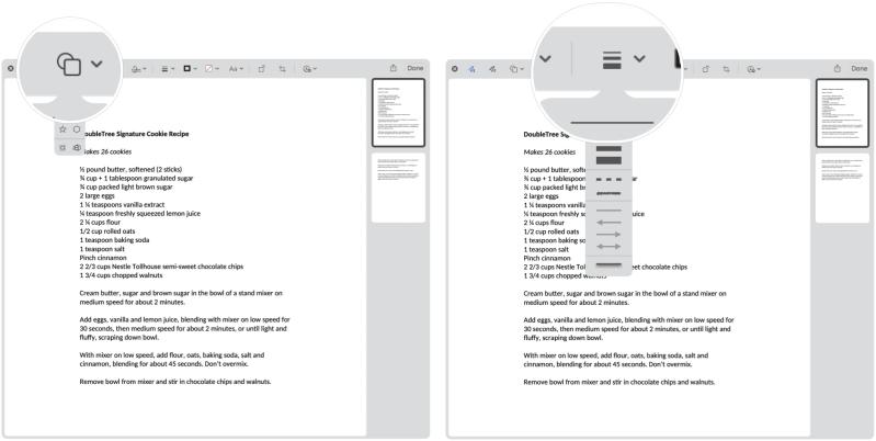Инструменты разметки Mac