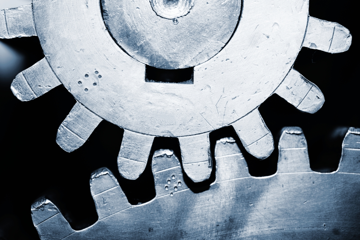 hight resolution of gear reduction refers to different sized gears altering the speed or torque of a motor