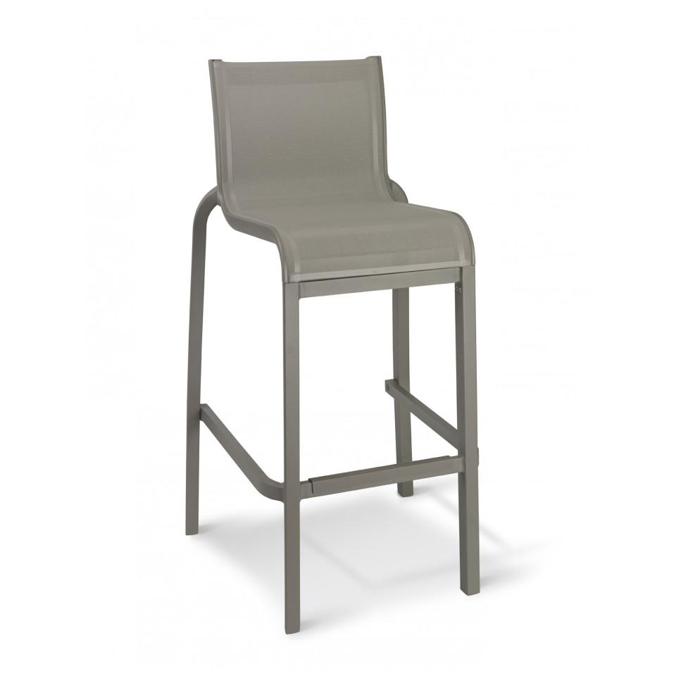 la chaise haute sunset apporte un confort absolu autour de toutes vos tables hautes