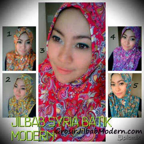 Syria Batik Modern Series