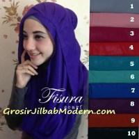 Jilbab Cattail Hoodie Warna Baru