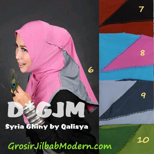 Jilbab Syria Ghinny Series