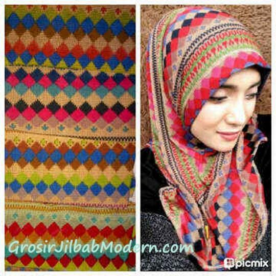 Jilbab Syria Tribal