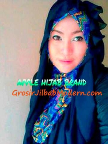 Jilbab Beverly Hoodie Dongker