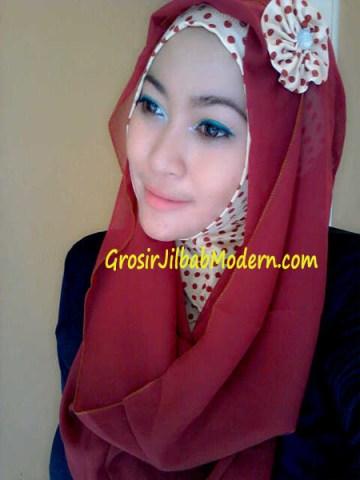 Jilbab Hoodie Alona Ala Fatin Bata