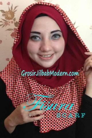 Jilbab Hoodie Laluna Series no 10