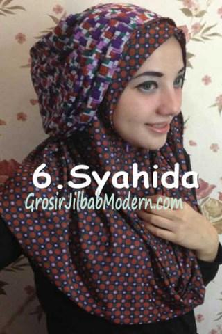 Jilbab Hoodie Ozle Bolak Balik no 6