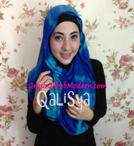 Jilbab Rooney Twist Hoodie Tile No 2