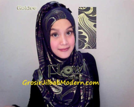Jilbab Syria Goldee Seri 2 Hitam