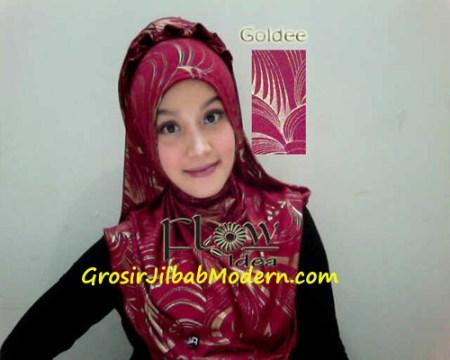 Jilbab Syria Goldee Seri 2 Marun