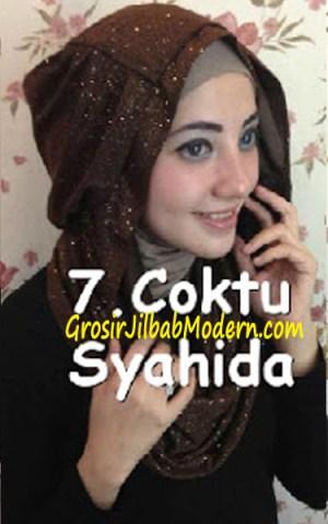 Jilbab Zura Hot Blink Hoodie no 7. Coktu