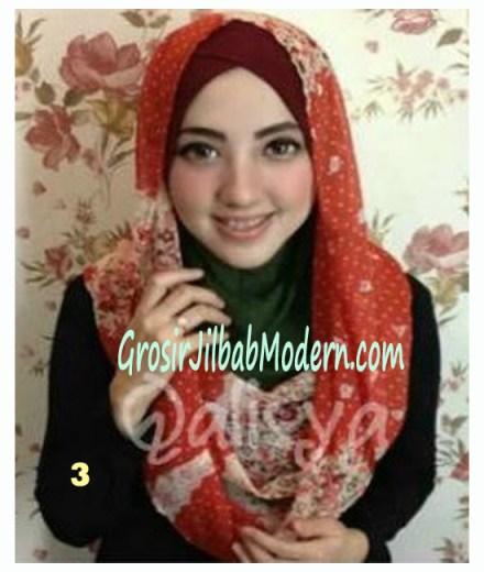 Jilbab Hoodie Instant Ileana No 3