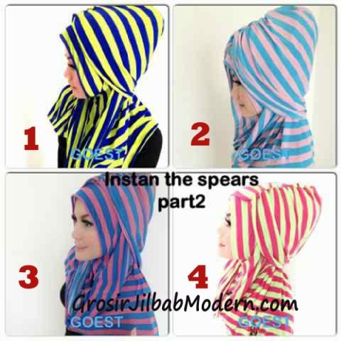 Jilbab StripTurban Lurik Series
