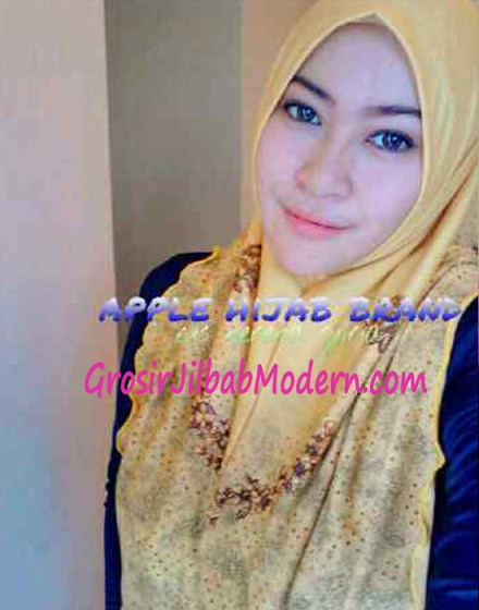 Jilbab Syria Nerena Kuning