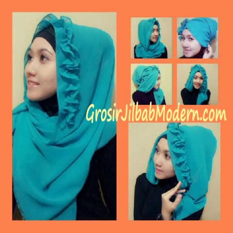 Jilbab Hoodie Flo April Jasmine Bisa di Model Seperti Ini