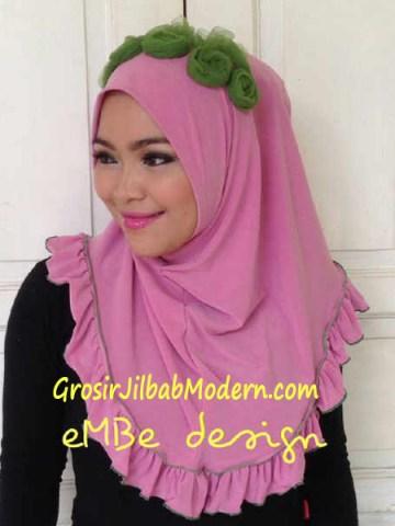 Jilbab Instan Little Queen No 8