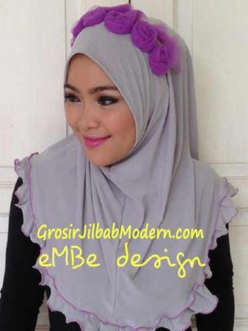 Jilbab Instan Little Queen No 9