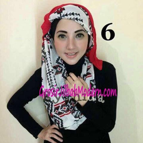 Jilbab Lindy Hoodie No 6